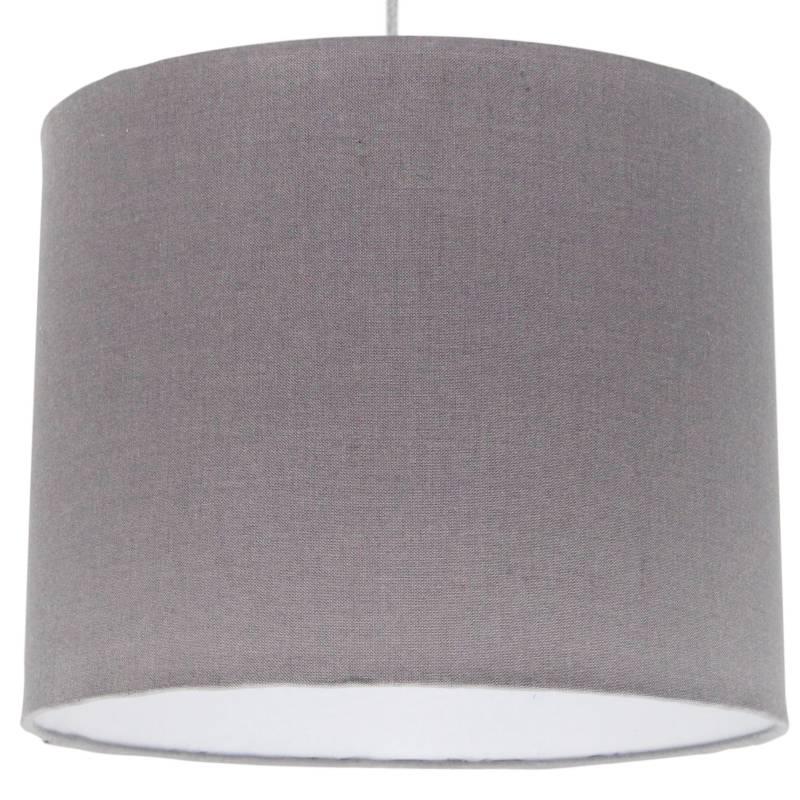 LIGHTME - Lámpara De Colgar Gris Lisa 25 X 20 Cm