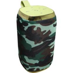 Parlante Portatil Bluetooth Bazuka Militar