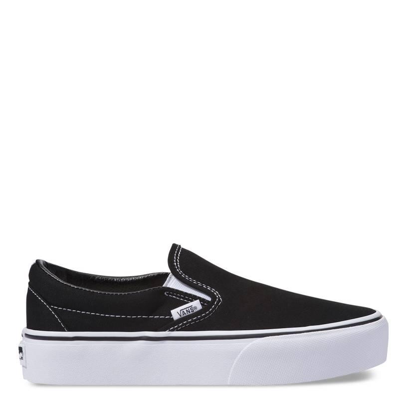 Vans - Ua Classic Slip-On Platform Zapatilla Urbana Mujer