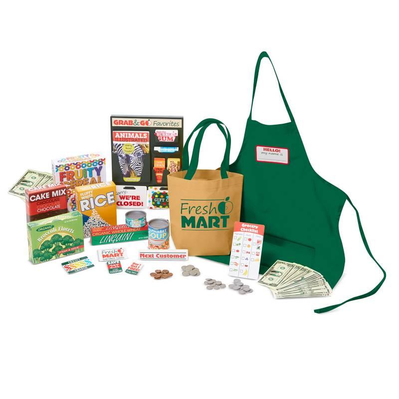 MELISSA & DOUG - Fresh Mart Grocery Companion Set