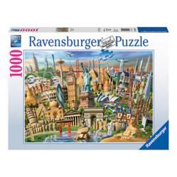 Puzzle Monumentos Del Mundo 1000 Piezas