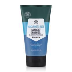 The Body Shop - Preparador de afeitar Shaving Gel Maca Root 8 Aloe 150Ml