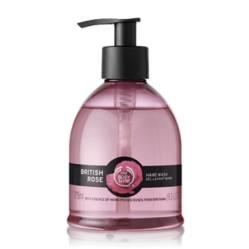 The Body Shop - Jabón corporal Hand Wash British Rose 275Ml Aox