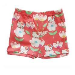 Hello Kitty - Short Flores Rosado Bebé Hello Kitty