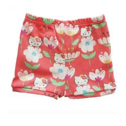 Hello Kitty - Short Flores Rosado Bebé Hello Kitty