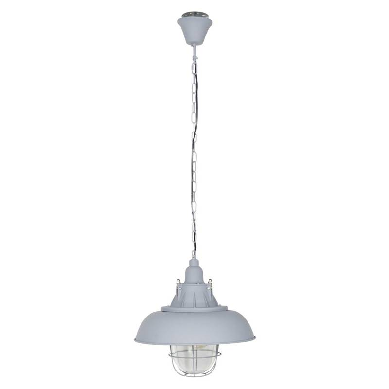 FORM DESIGN - Lámpara de Colgar Grid Gris Claro