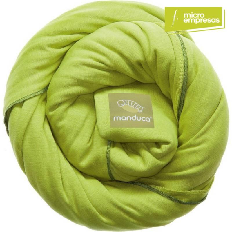 MANDUCA - Fular Portabebé Sling Verde Lima
