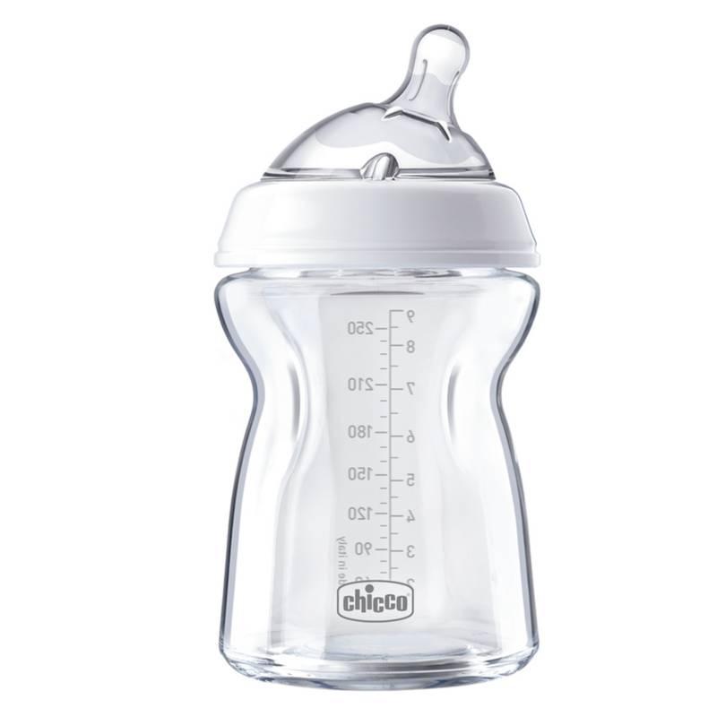 Chicco - Mamadera Vidrio Natural 250 ml