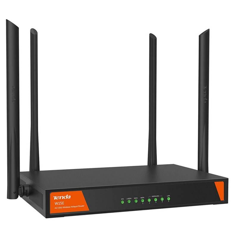 TEND - Mk Router Smart Gigabit Wirekess Hotspot Ac1200