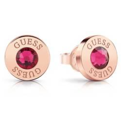 Guess - Aros Shiny Crystals Oro Rosa