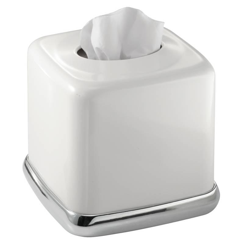 Interdesig - Porta Tissue York Blanco