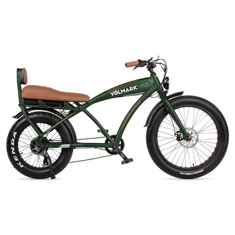 VOLMARK - Bicicleta Eléctrica Modelo Chopper