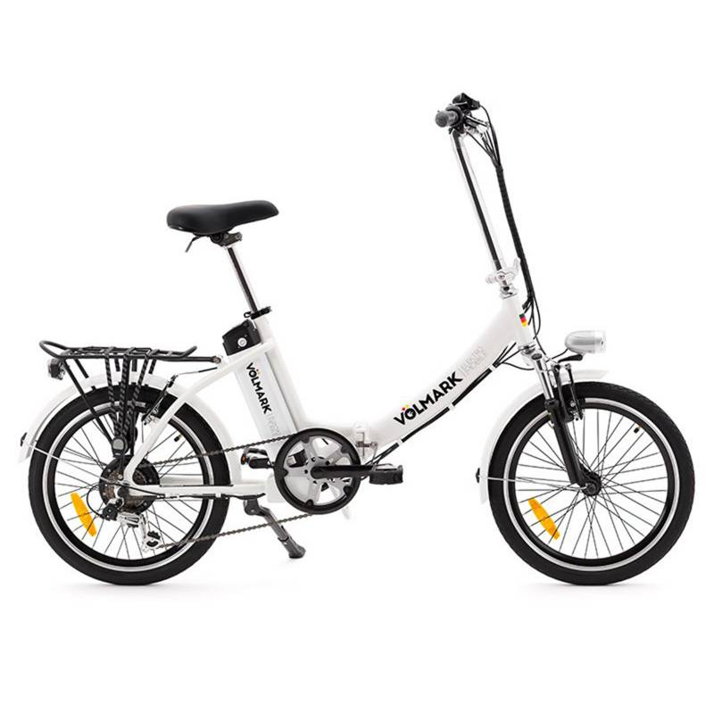 VOLMARK - Bicicleta Eléctrica Plegable Modelo Elektra