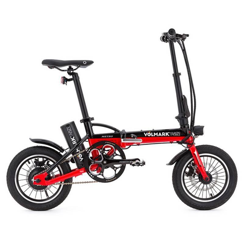 VOLMARK - Bicicleta Eléctrica Plegable Modelo Metro