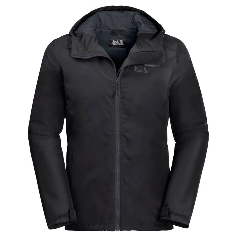 JACK WOLFSKIN - Parka Outdoor Hombre Chilly Morning