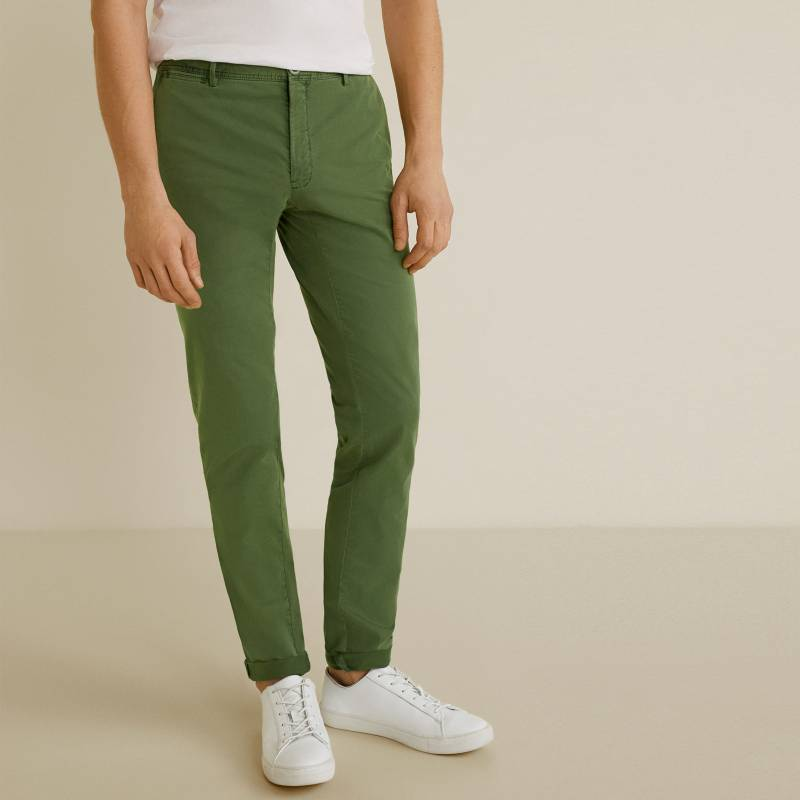 Mango Man - Pantalón Casual Slim Fit