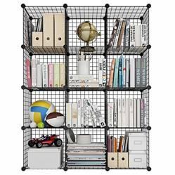 INSPIRACCI - Armario Organizador Metálico 12 Cubos