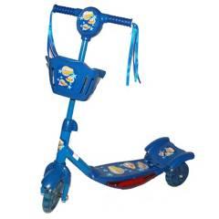 GENERICO - Tri Scooter Monopatín Azul Musical con Luz