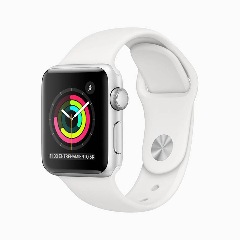APPLE - Apple Watch S3 38mm Silver White