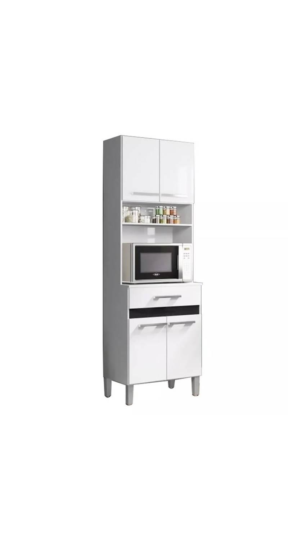 Kit Mueble Cocina 4 Puertas 1 Cajón Blanco 137409