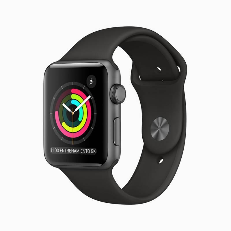 APPLE - Apple Watch S3 42mm Black