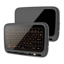 S/M - Airmouse H18+ Tactil Retro Iluminado Teclado Mouse
