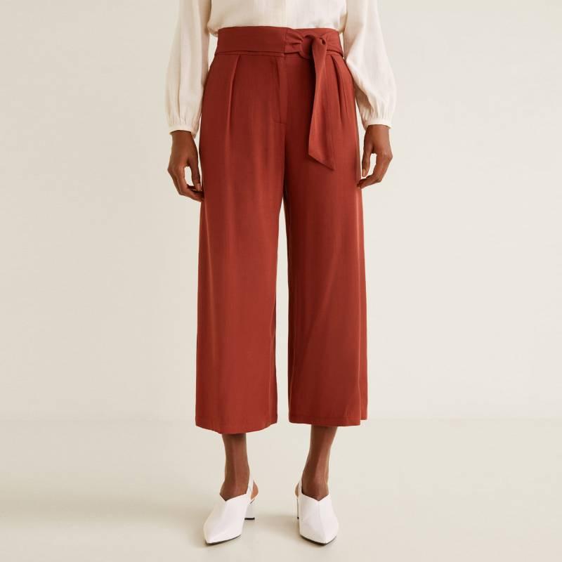 Mango - Pantalon Sangria