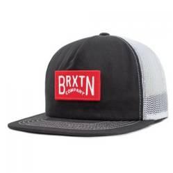 BRIXTON - Jockey Brixton Langley Mesh Cap Black/White