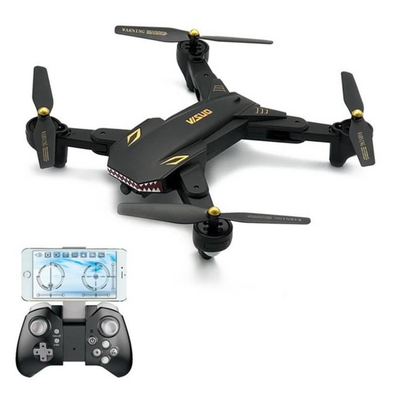 VISUO - Drone VISUO XS809S Shark Cámara HD gran angular