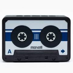 Maxell - Maxell Parlante Bluetooth Bt-90 Cassette Silver