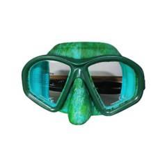 CABOSUB - Máscara de Buceo Tonina Camouflage Verde