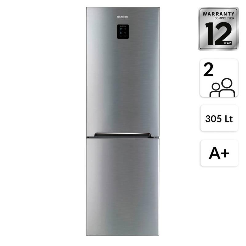Daewoo - Refrigerador Bottom RF-B34FCP 305 Lt