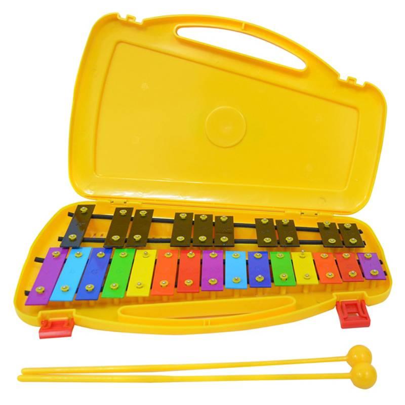 RMX - Rmx Metalófono Cromático Rmx 25 Notas Amarillo Colores