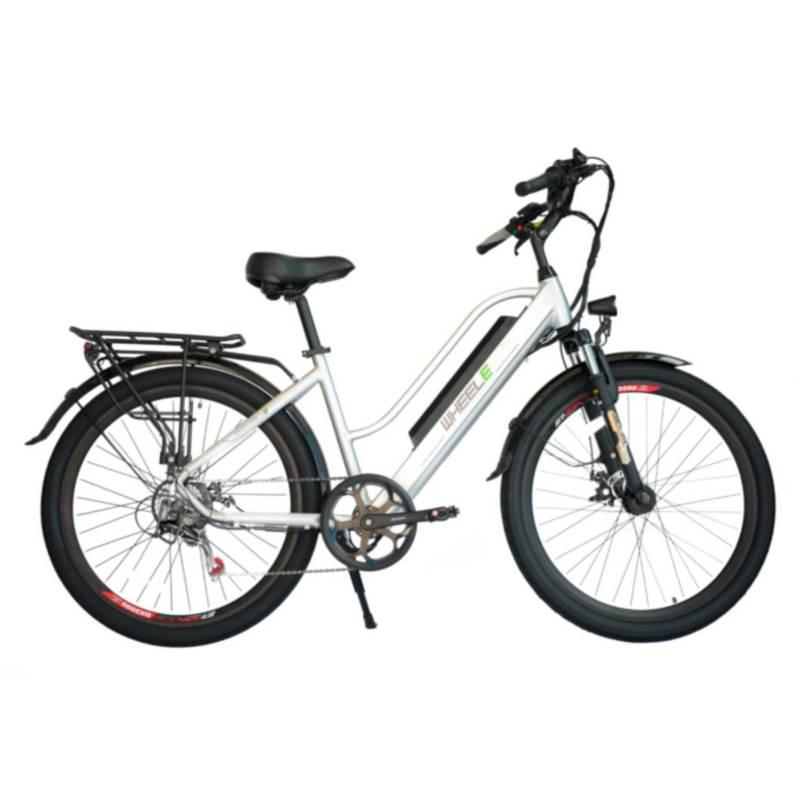 "WHEELE - Bicicleta Eléctrica WHEELE Aro 26"""