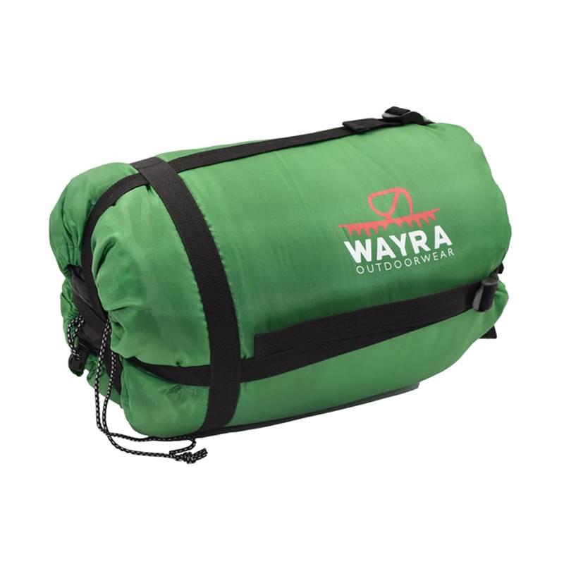 Wayra - Saco de dormir Mountain green -10°C/+10°C