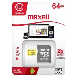 Maxell - MCSD-64GB CL10