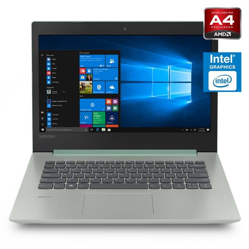 Lenovo - Notebook AMD A4 4GB RAM-500GB HDD 14""