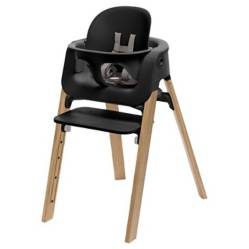 Stokke - Pack Silla Steps Negro/Roble Natural