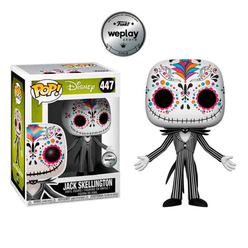 Funko - Funko Pop Disney Nbc Jack Skellington Skull
