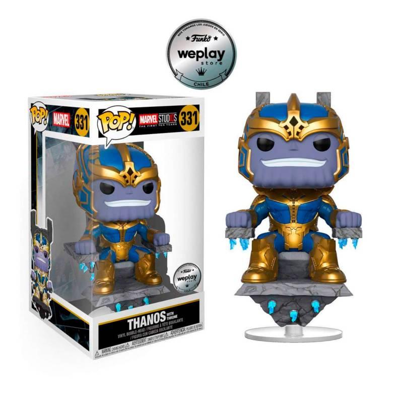 Funko - Funko Pop Deluxe Marvel Studio 10 Thanos On Throne