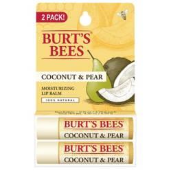 Burts Bees - Bálsamo Labial Burt's Bees Coco y Pera pack 2 un