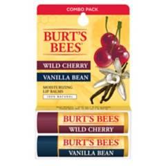 BURTS BEES - Bálsamo Labial Burt's Bees Vanilla Bean & Wild Cherry pack 2 un