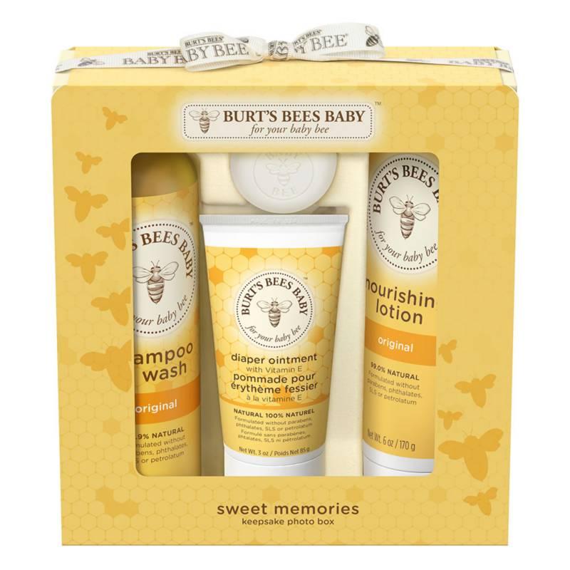 BURTS BEES - Kit de Regalo Burt's Bees Baby Sweet Memories