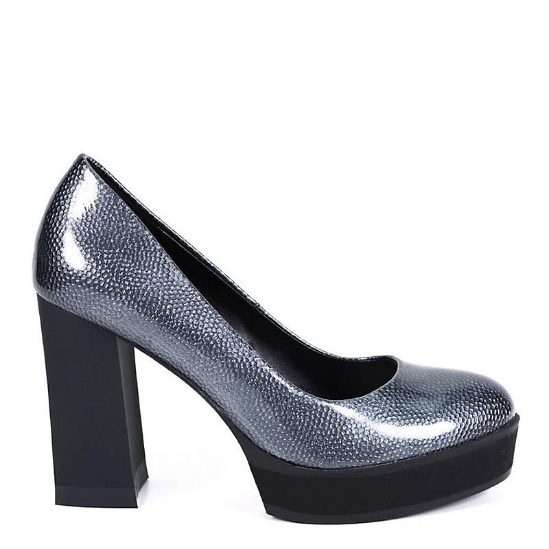 e04db389110b Eda Manzini Zapato Formal Mujer Renata Plateado - Falabella.com