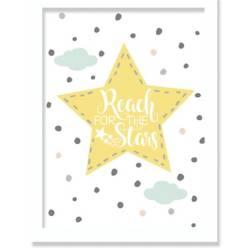 Cuadro Infantil Reach For The Stars 20 x 30 cm
