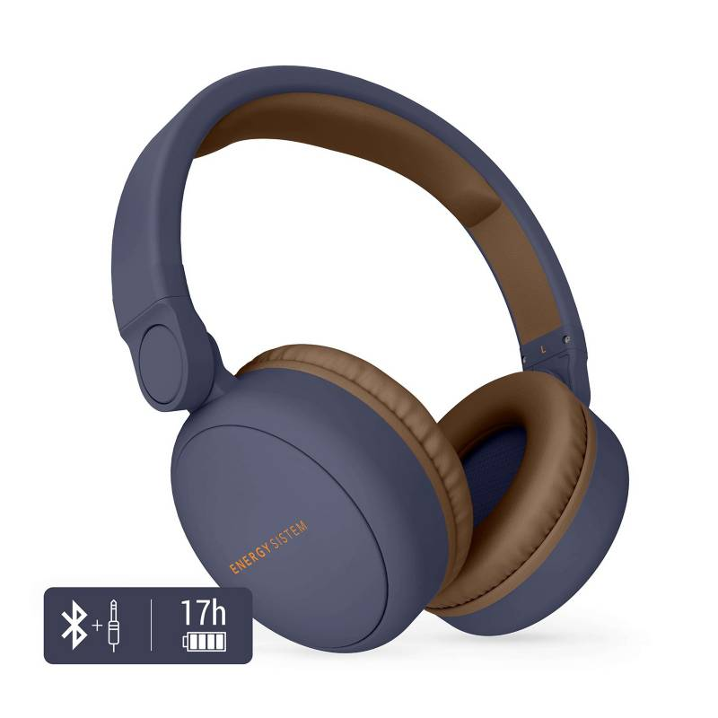 Energy Sistem Audífono Energy Bluetooth Blue