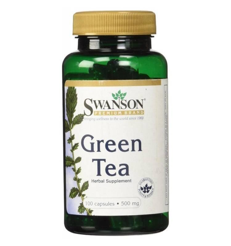 SWANSON - Swanson Sw Green Tea 500Mg 100 Caps