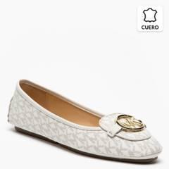 Michael Kors - Zapato Casual Mujer Cuero Blanco