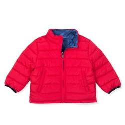 Parka Puffer Toddler Boy Rojo