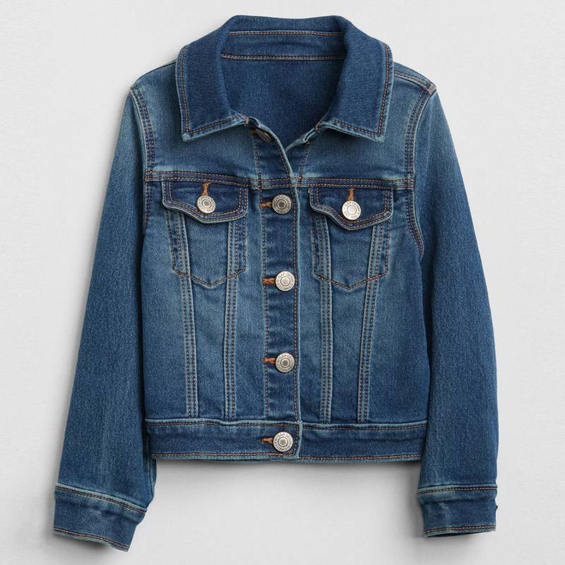 Gap - Chaqueta Denim Toddler Girl Azul